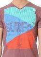 Cazador Baskılı Tişört Pembe